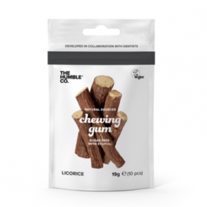 Naturligt Tuggummi Licorice