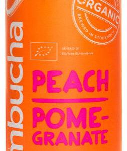 kombucha persika